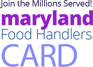 MARYLAND Food Handlers Card